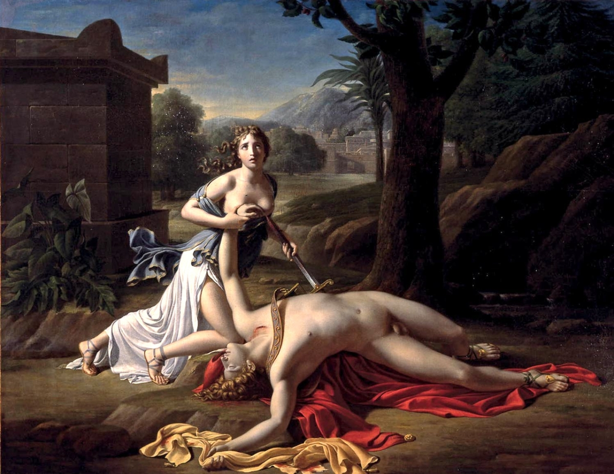 La storia d'amore di Piramo e Tisbe
